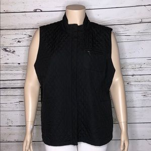 Talbots NWT 3X Black Quilted Puffer Vest Jacket